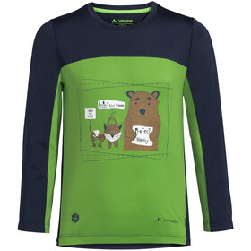 VAUDE Solaro LS T-Shirt II Kids, apple